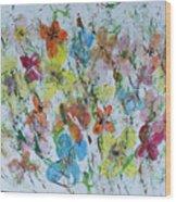 Mariposas De La Isla Wood Print
