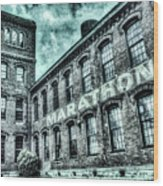 Marithon Car Manufacturing Facility In Nashville Wood Print