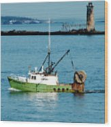 Maritime Wood Print
