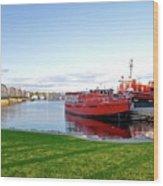 Maritime Springtime Wood Print