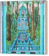 Marjorelle Reflections Wood Print