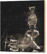Marjorie Kinnan Rawlings Kerosene  Lamp Wood Print