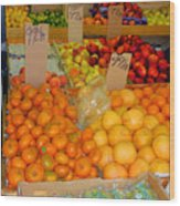Market At Bensonhurst Brooklyn Ny 7 Wood Print