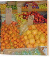 Market At Bensonhurst Brooklyn Ny 9 Wood Print