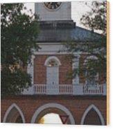 Market House - Fayetteville Wood Print