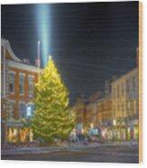 Market Square 025 Wood Print