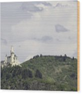 Marksburg Castle 26  Wood Print
