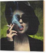 Marla Singer Wood Print