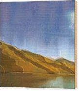 Marlborough Sounds, New Zealand Wood Print