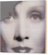 Marlene Dietrich Scarlet Empress Closeup 1934-2015 Wood Print