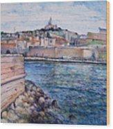 Marseille Pierre Plats Provence France Cm 2004  Wood Print