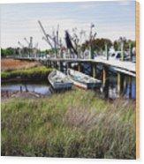 Marsh Harbor 2 Wood Print