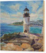 Marshal Point Light Wood Print