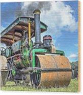 Marshall Steam Roller Wood Print