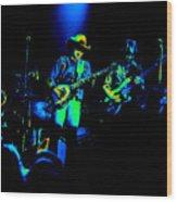 Marshall Tucker Winterland 1975 #12 Enhanced In Cosmicolors #2 Wood Print