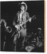 Marshall Tucker Winterland 1975 #2 Wood Print
