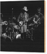 Marshall Tucker Winterland 1975 #21 Wood Print