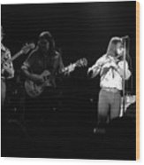 Marshall Tucker Winterland 1975 #35 Wood Print