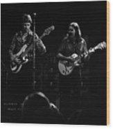 Marshall Tucker Winterland 1975 #36 Wood Print