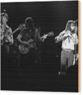 Marshall Tucker Winterland 1975 #37 Crop 2 Wood Print