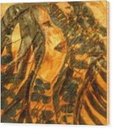 Martha And Babe - Tile Wood Print