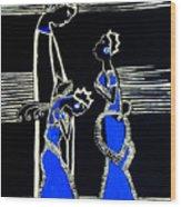 Martha And Mary Of Bethany Wood Print by Gloria Ssali