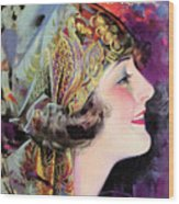 Martha Mansfield, Photoplay July 1920 Wood Print