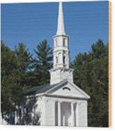 Martha-mary Chapel Wood Print