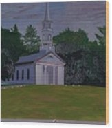 Martha Mary Chapel Wood Print