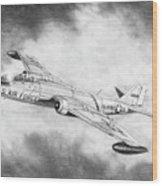 Martin B-57 Intruder  Wood Print