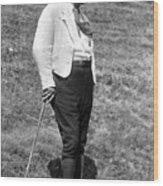 Martin Heidegger (1889-1976) Wood Print