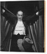 Martin Landau Looming Ed Wood Publicity Photo 1994-2015 Wood Print