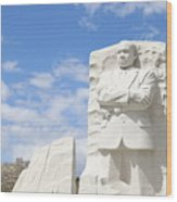 Martin Luther King Dc Memorial Wood Print