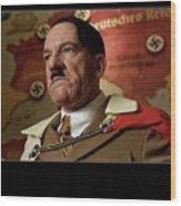 Martin Wuttke As Adolf Hitler Number Two Inglourious Basterds 2009 Frame Added 2016 Wood Print