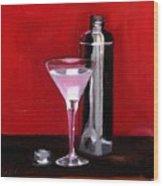 Martini 2 Wood Print