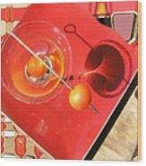 Martini Fantazy Wood Print