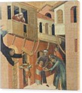 Martini: St. Augustine Wood Print