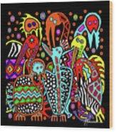 Maruvian Bird Gallery Wood Print