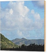 Marvellous Clouds Wood Print