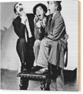 Marx Brothers, The Groucho, Chico Wood Print