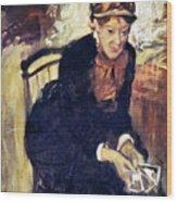 Mary Cassatt (1845-1926) Wood Print by Granger