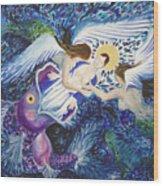 Mary Comes Home Wood Print