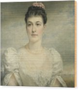 Mary Gardiner Thompson Wood Print