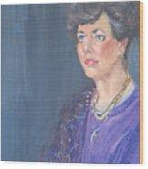 Mary Jane Wood Print