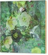 Mary Mary Wood Print by Jennifer Kelly