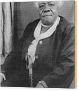Mary Mcleod Bethune Wood Print by Granger
