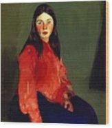 Mary Of Connemara 1913 Wood Print