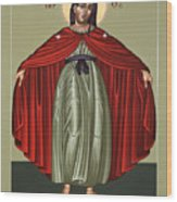 Mary Of The Magnificat Mother Of The Poor 091 Wood Print