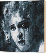 Mary Pickford Wood Print
