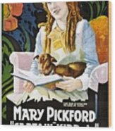 Mary Pickford In Captain Kidd Jr Wood Print